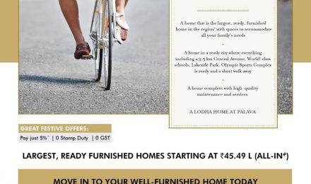 Lodha brings largest, ready, furnished homes in Palava